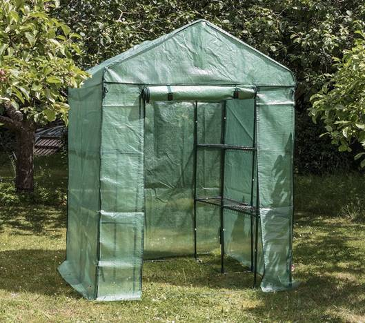 Harbour Housewares Large Double Depth Vegetable / Fruit Grow House in use