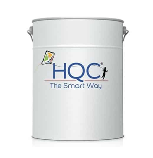 HQC masonry paint tin
