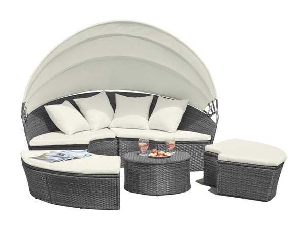 sun lounger rattan furniture