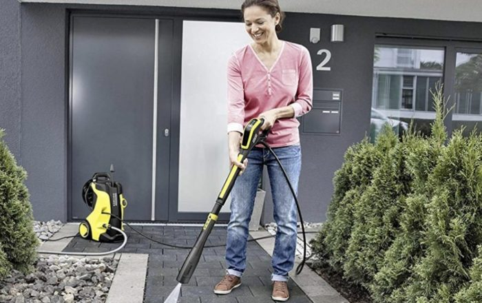 karcher K5 in action