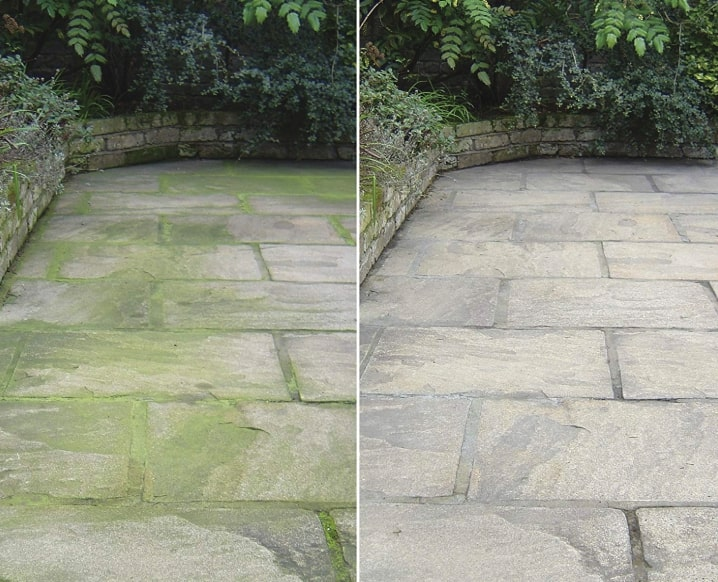 patio magic before and after